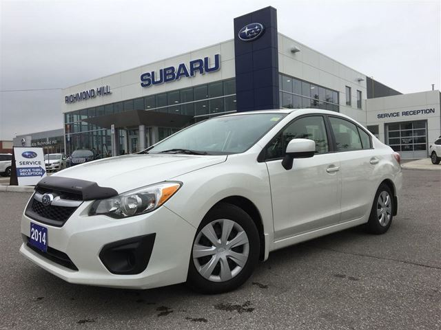 2014 subaru impreza richmond hill ontario used car for sale 2703033. Black Bedroom Furniture Sets. Home Design Ideas