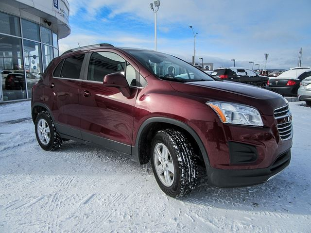 2016 chevrolet trax lt gatineau quebec used car for sale 2703468. Black Bedroom Furniture Sets. Home Design Ideas