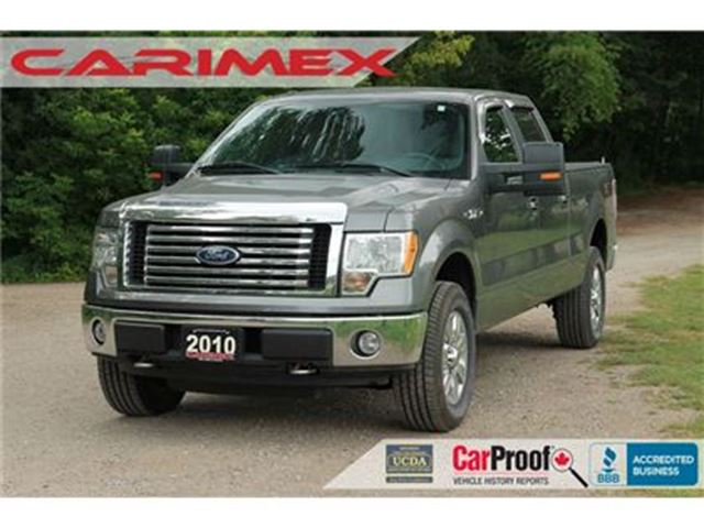2010 FORD F-150 XLT   4x4   CERTIFIED + E-TESTED in Kitchener, Ontario