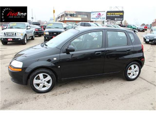 2007 Pontiac Wave SE AUTO-POWER PKG-ALLOYS in Hamilton, Ontario