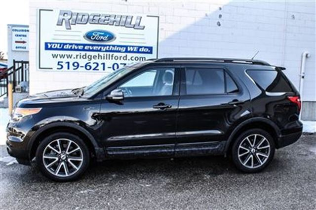 2015 ford explorer xlt 4x4 navigation leather cambridge ontario used car for sale 2703967. Black Bedroom Furniture Sets. Home Design Ideas