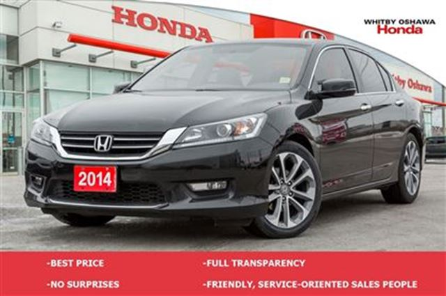 2014 honda accord sport whitby ontario car for sale. Black Bedroom Furniture Sets. Home Design Ideas