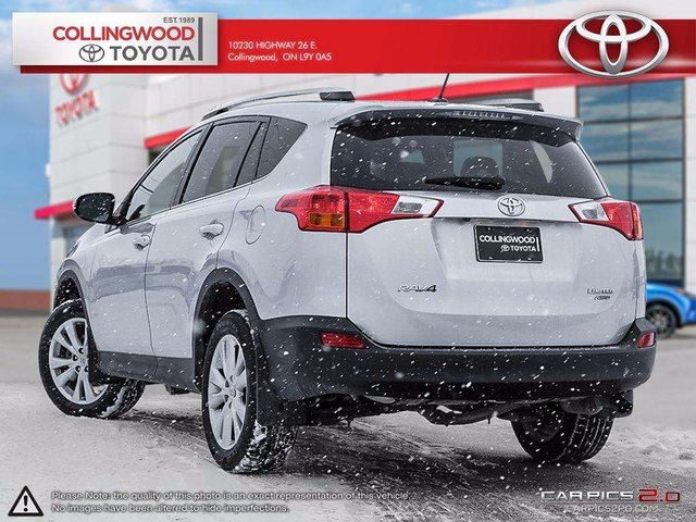 2014 toyota rav4 limited 4dr all wheel drive collingwood ontario used car for sale 2703815. Black Bedroom Furniture Sets. Home Design Ideas