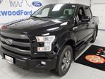 2015 Ford F-150 LEATHER , ROOF AND NAV AND YES OH YES , IT IS BLACK ON BLACK!!! in Edmonton, Alberta