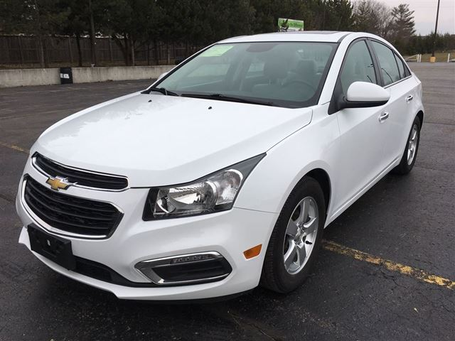 2015 chevrolet cruze 2lt cayuga ontario used car for sale 2703840. Black Bedroom Furniture Sets. Home Design Ideas