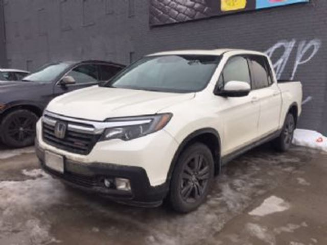 2017 honda ridgeline sport w full term warranty honda lease guard mississauga ontario used. Black Bedroom Furniture Sets. Home Design Ideas