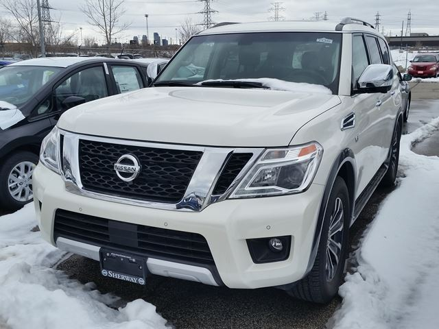 2017 nissan armada sl toronto ontario new car for sale 2703865. Black Bedroom Furniture Sets. Home Design Ideas