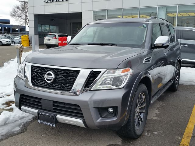 2017 nissan armada sl toronto ontario car for sale 2703867. Black Bedroom Furniture Sets. Home Design Ideas