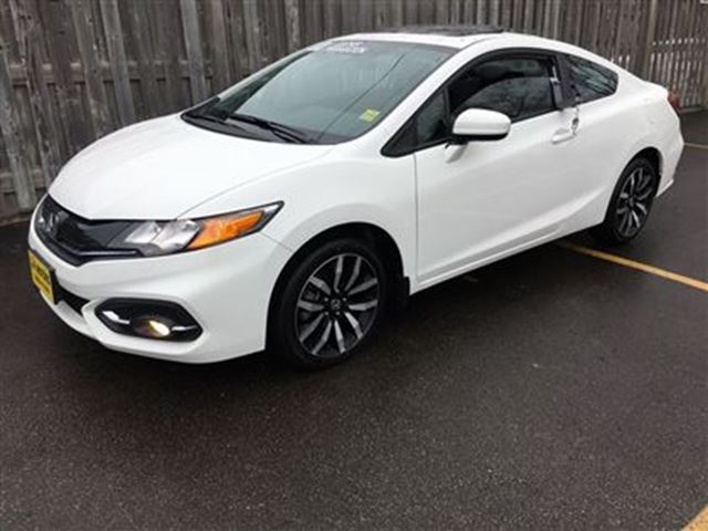2015 honda civic ex l automatic leather sunroof only for Honda civic sunroof