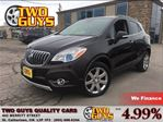 2014 Buick Encore Premium AWD NAVIGATION LEATHER SUN ROOF in St Catharines, Ontario
