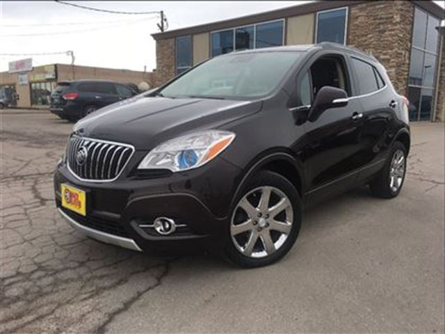 2014 buick encore premium awd navigation leather sun roof awesome in st catharines ontario. Black Bedroom Furniture Sets. Home Design Ideas