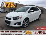 2012 Chevrolet Sonic LT SUN ROOF REMOTE ENGINE START in St Catharines, Ontario