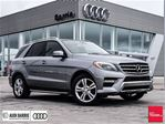 2013 Mercedes-Benz M-Class ML350 Bluetec 4matic Navigation w/ Panoramic Roof in Innisfil, Ontario