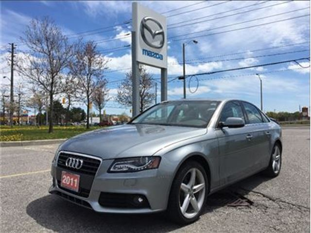 2011 AUDI A4 2.0T Premium - BLUETOOTH, SUNROOF, ALLOYS in Scarborough, Ontario