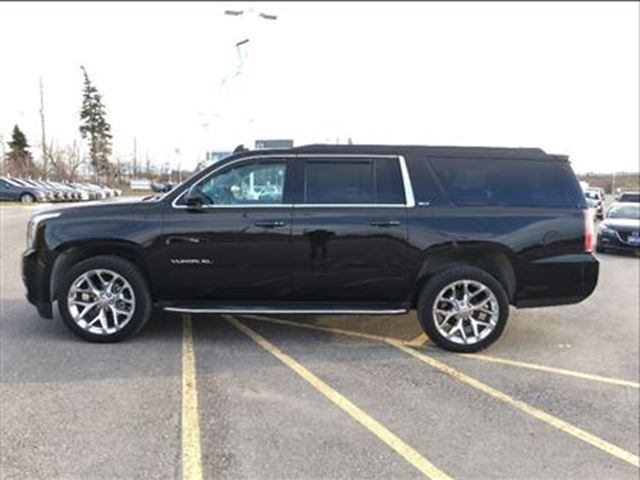 2016 gmc yukon xl slt navi heated seats accident free trade in scarborough ontario used. Black Bedroom Furniture Sets. Home Design Ideas