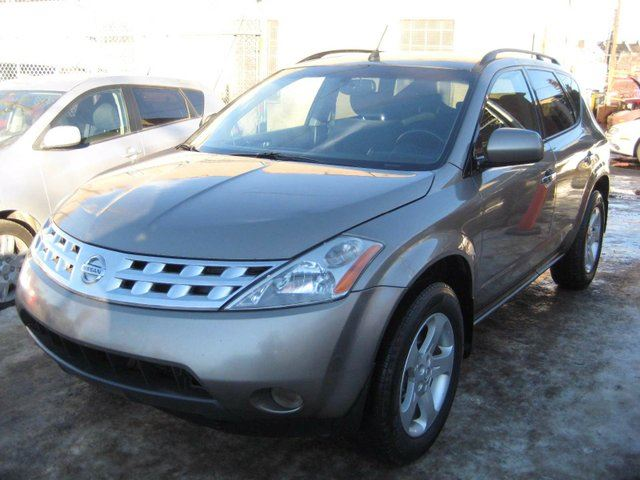 2004 nissan murano sl all wheel drive edmonton alberta used car for sale 2704540. Black Bedroom Furniture Sets. Home Design Ideas