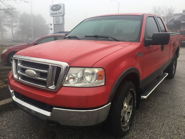 2004 ford f 150 fx4 red danny sons auto sales. Black Bedroom Furniture Sets. Home Design Ideas