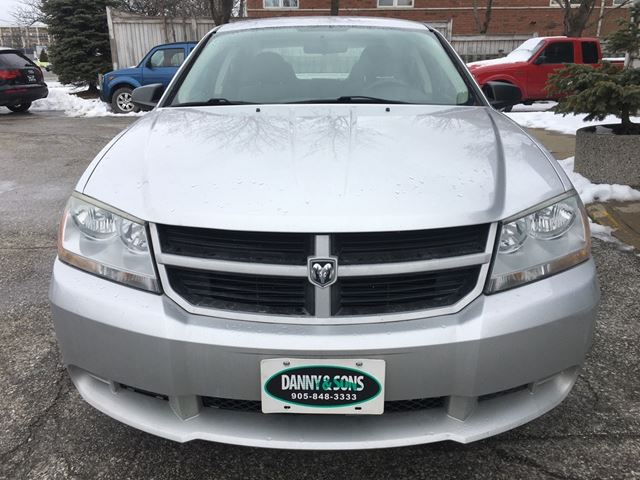 2008 dodge avenger se mississauga ontario used car for. Cars Review. Best American Auto & Cars Review