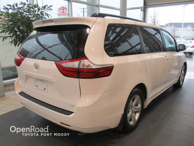 2016 toyota sienna le bluetooth backup camera heated front sea port moody british. Black Bedroom Furniture Sets. Home Design Ideas