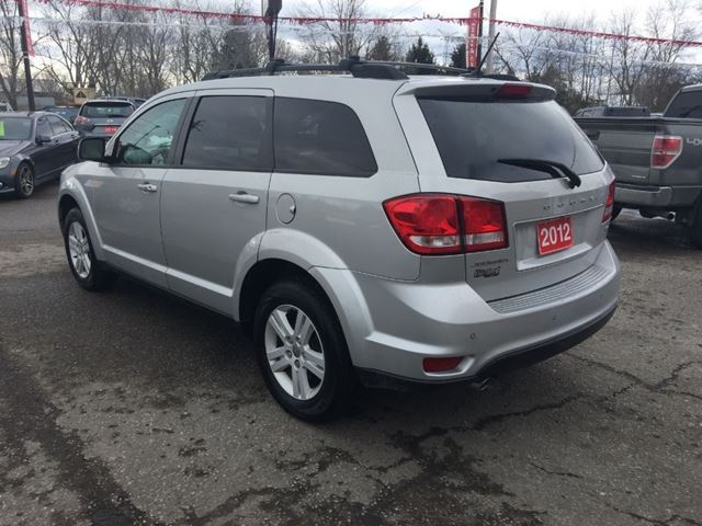 2012 dodge journey sxt 7 passsenger bowmanville ontario used car for sale 2704763. Black Bedroom Furniture Sets. Home Design Ideas