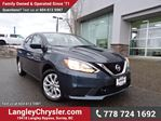 2016 Nissan Sentra 1.8 SV ULTRA LOW KMS & ACCIDENT FREE w/ REAR-VIEW CAMERA in Surrey, British Columbia