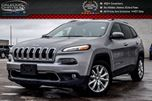 2016 Jeep Cherokee Limited Navi Backup Cam Bluetooth Safety Tec Blind Spot R-Start  18Alloy Rims in Bolton, Ontario