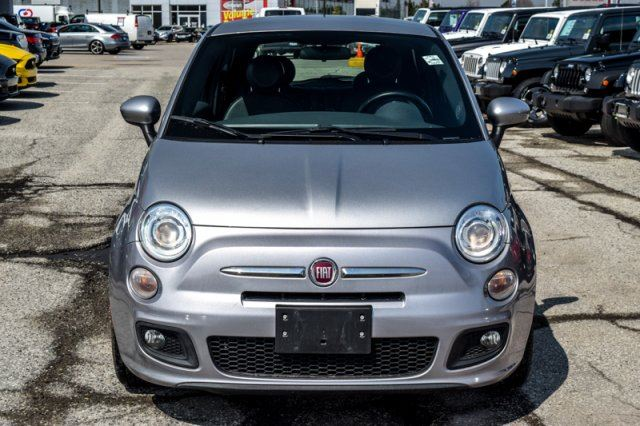 2015 fiat 500 sport leather bluetooth ac clean carproof power opts 16alloys thornhill. Black Bedroom Furniture Sets. Home Design Ideas