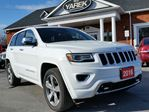 2016 Jeep Grand Cherokee Overland 4x4, NAV, Heated/Vented Seats, Back Up Cam, Tow Pkg in Paris, Ontario