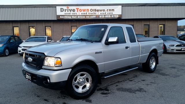 2011 ford ranger xlt super cab 4x4 silver drive time ottawa. Black Bedroom Furniture Sets. Home Design Ideas