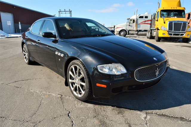 2007 maserati quattroporte executivegt no accident. Black Bedroom Furniture Sets. Home Design Ideas