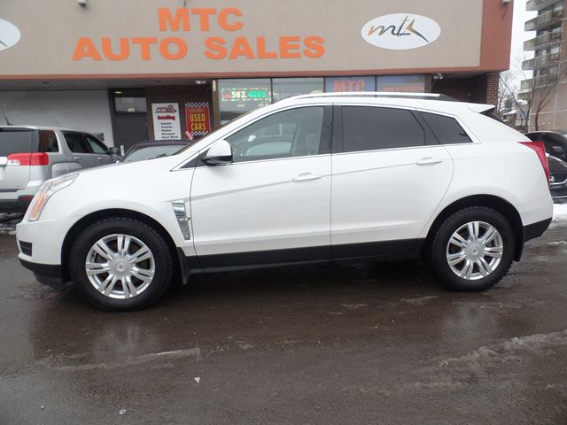 2010 cadillac srx 3 0 luxury white mtc auto sales. Black Bedroom Furniture Sets. Home Design Ideas