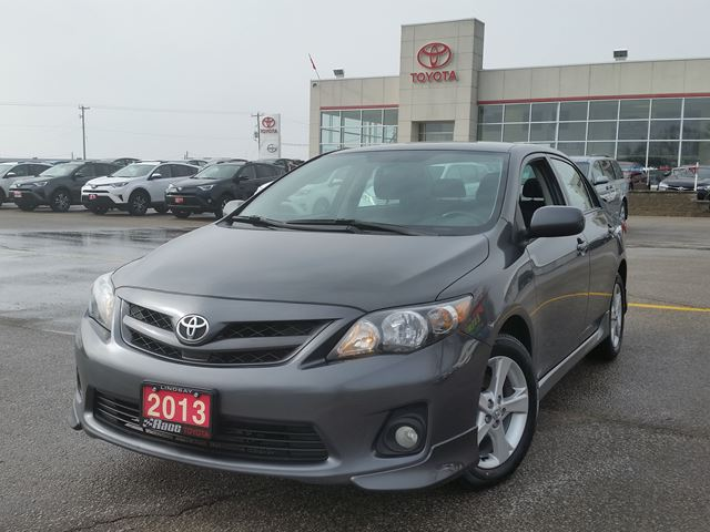 2013 toyota corolla s grey race toyota. Black Bedroom Furniture Sets. Home Design Ideas
