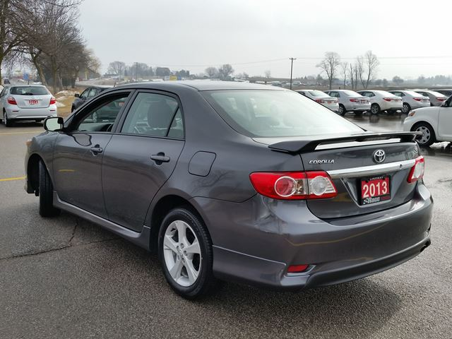 2013 toyota corolla s lindsay ontario used car for sale. Black Bedroom Furniture Sets. Home Design Ideas