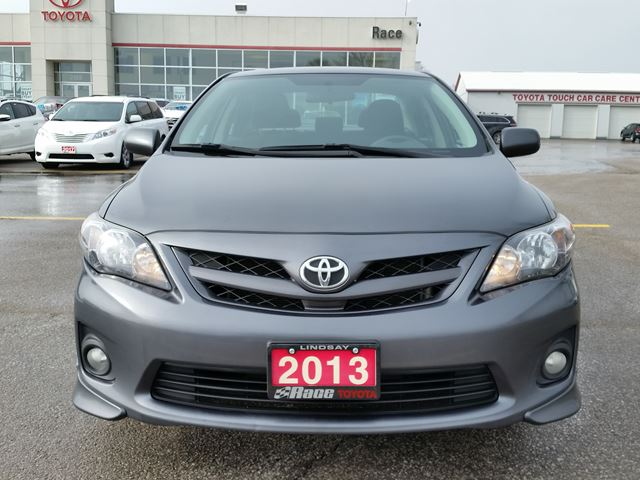 2013 toyota corolla s lindsay ontario used car for sale 2705473. Black Bedroom Furniture Sets. Home Design Ideas