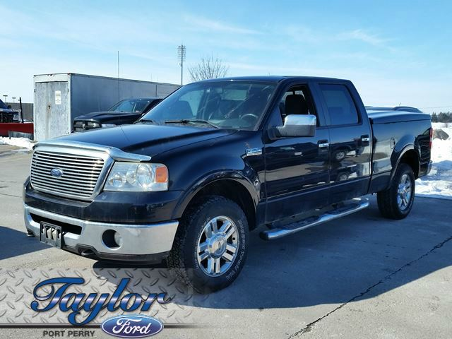 2007 ford f 150 lariat leather 4x4 v8 chrome port perry ontario used car for sale. Black Bedroom Furniture Sets. Home Design Ideas
