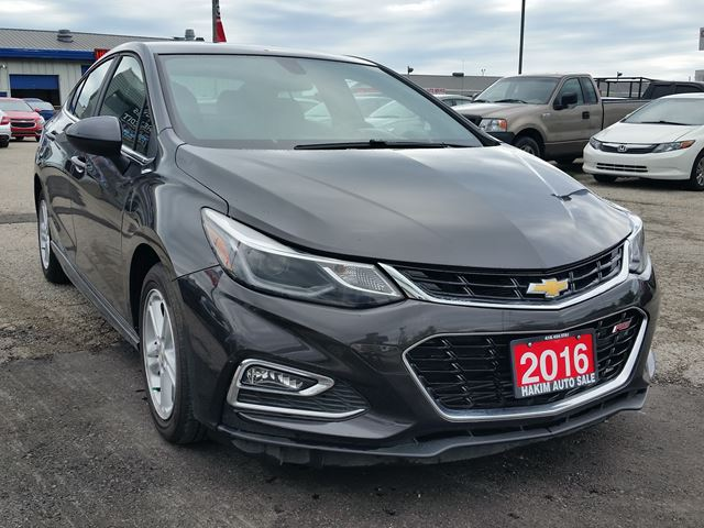 2016 chevrolet cruze rs pickering ontario car for sale 2705503. Black Bedroom Furniture Sets. Home Design Ideas