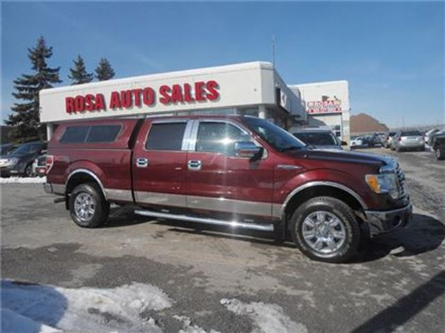 2010 ford f 150 xtr 4wd auxilliary supercrew low km red. Black Bedroom Furniture Sets. Home Design Ideas