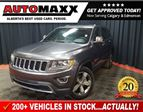 2016 Jeep Grand Cherokee Limited w/Leather/Sunroof! in Calgary, Alberta