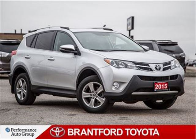 2015 toyota rav4 xle one owner not a rental sunroof balance of brantford ontario used car. Black Bedroom Furniture Sets. Home Design Ideas