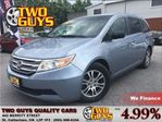 2011 Honda Odyssey EX DUAL POWER SLIDING DOORS BACK UP CAMERA in St Catharines, Ontario
