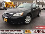 2013 Chrysler 200 LX ULTRA LOW KMS!! NICE CAR!! in St Catharines, Ontario