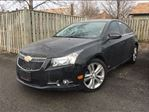 2013 Chevrolet Cruze LT Turbo LEATHER MOON ROOF in St Catharines, Ontario