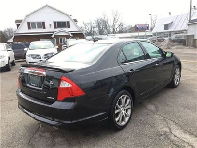 used 2012 ford fusion 6 cy sel v6 awd hagersville. Black Bedroom Furniture Sets. Home Design Ideas