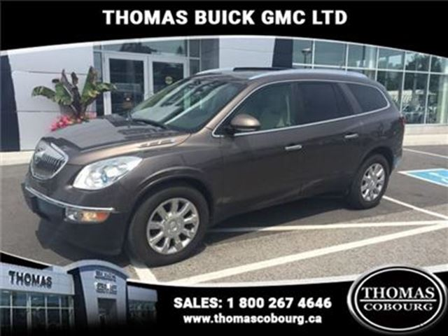 2011 BUICK ENCLAVE CXL  - Bluetooth -  Leather Seats -  Heated Seats in Cobourg, Ontario