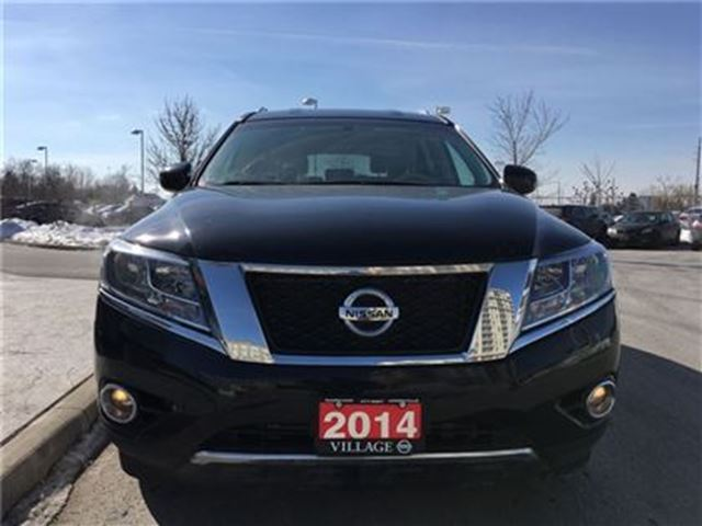 2014 nissan pathfinder sl navigation black on tan leather. Black Bedroom Furniture Sets. Home Design Ideas