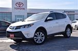 2015 Toyota RAV4 One owner LTD with 7 year ECP warranty in Georgetown, Ontario