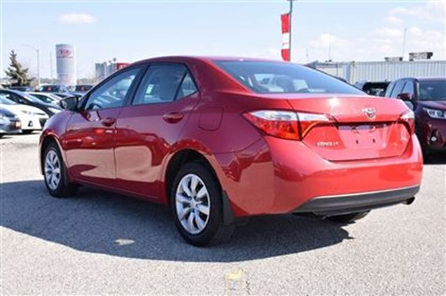 2016 toyota corolla le georgetown ontario used car for sale 2706668. Black Bedroom Furniture Sets. Home Design Ideas