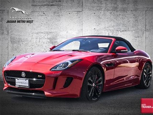 2017 JAGUAR F-TYPE S AWD/ALLOPTIONS/NEWLISTOVER$119,000 in Toronto, Ontario
