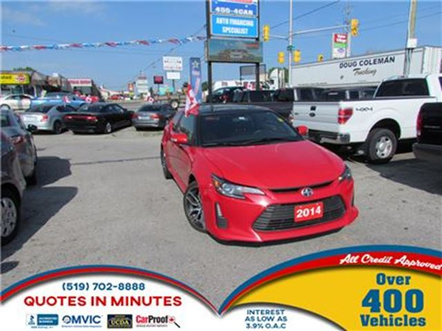 2014 SCION TC ONE OWNER   LEATHER   ROOF in London, Ontario