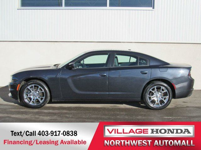 2016 Dodge Charger Sxt Plus Awd Blue Village Honda
